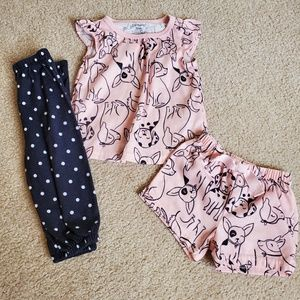 Carters 3 Piece PJs